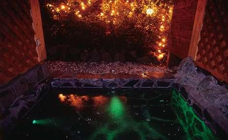露天 スターライト風呂